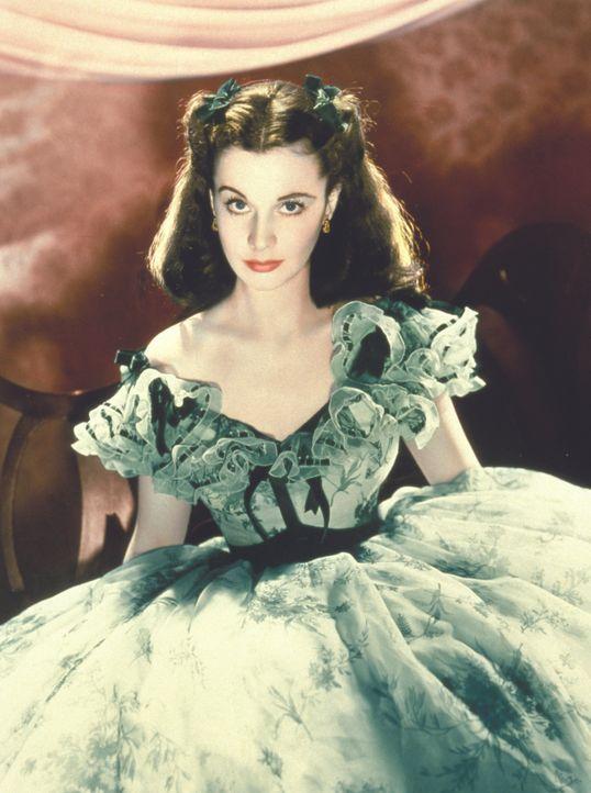 Am Vorabend des Bürgerkriegs bricht für die verwöhnte, eigensinnige Scarlett O'Hara (Vivien Leigh) eine Welt zusammen, als sie auf einem Gartenfest... - Bildquelle: Metro-Goldwyn-Mayer (MGM)