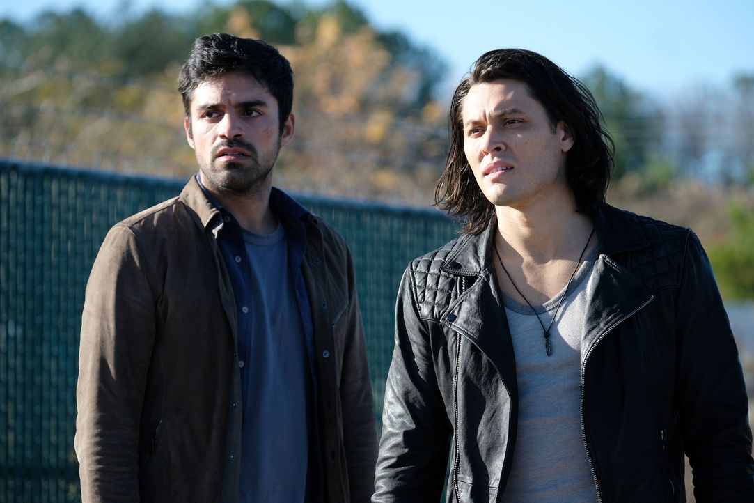 Marcos (Sean Teale, l.); John (Blair Redford, r.) - Bildquelle: Eliza Morse 2017 Fox and its related entities.  All rights reserved.  MARVEL TM &   2017 MARVEL/Eliza Morse
