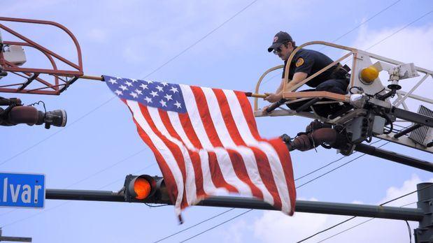 United we stand: Am vierten Juli in New Orleans scheint die Hitze auf den Str...