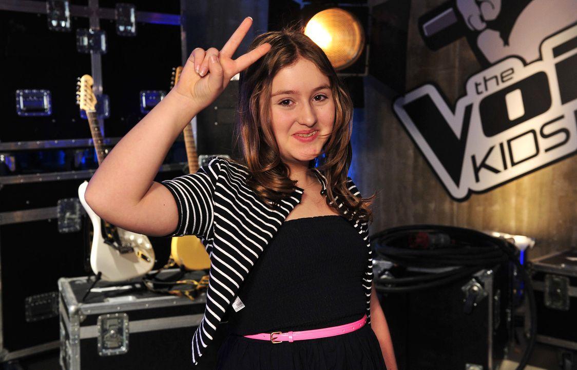 The-Voice-Kids-Stf02-Epi06-Helena-06-SAT1-Andre-Kowalski - Bildquelle: SAT.1/Andre Kowalski