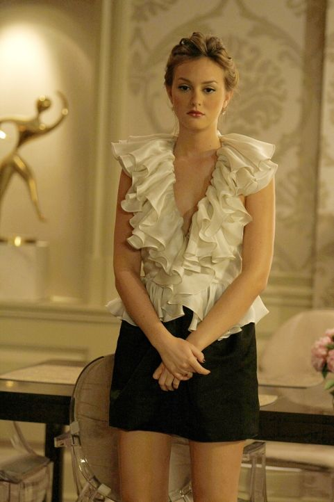 Blair (Leighton Meester) überlegt was sie wegen Cyrus tun soll... - Bildquelle: Warner Brothers
