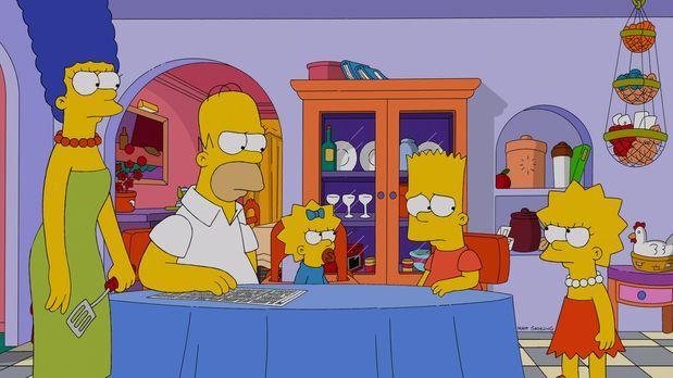 Die Simpsons - Halten zusammen, als Bart zu Unrecht beschuldigt wird, zu Oste...
