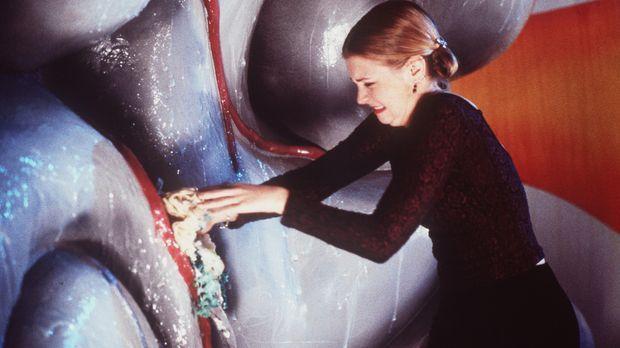 Sabrina (Melissa Joan Hart) muss feststellen, dass ihre Zauberkraft im Innere...