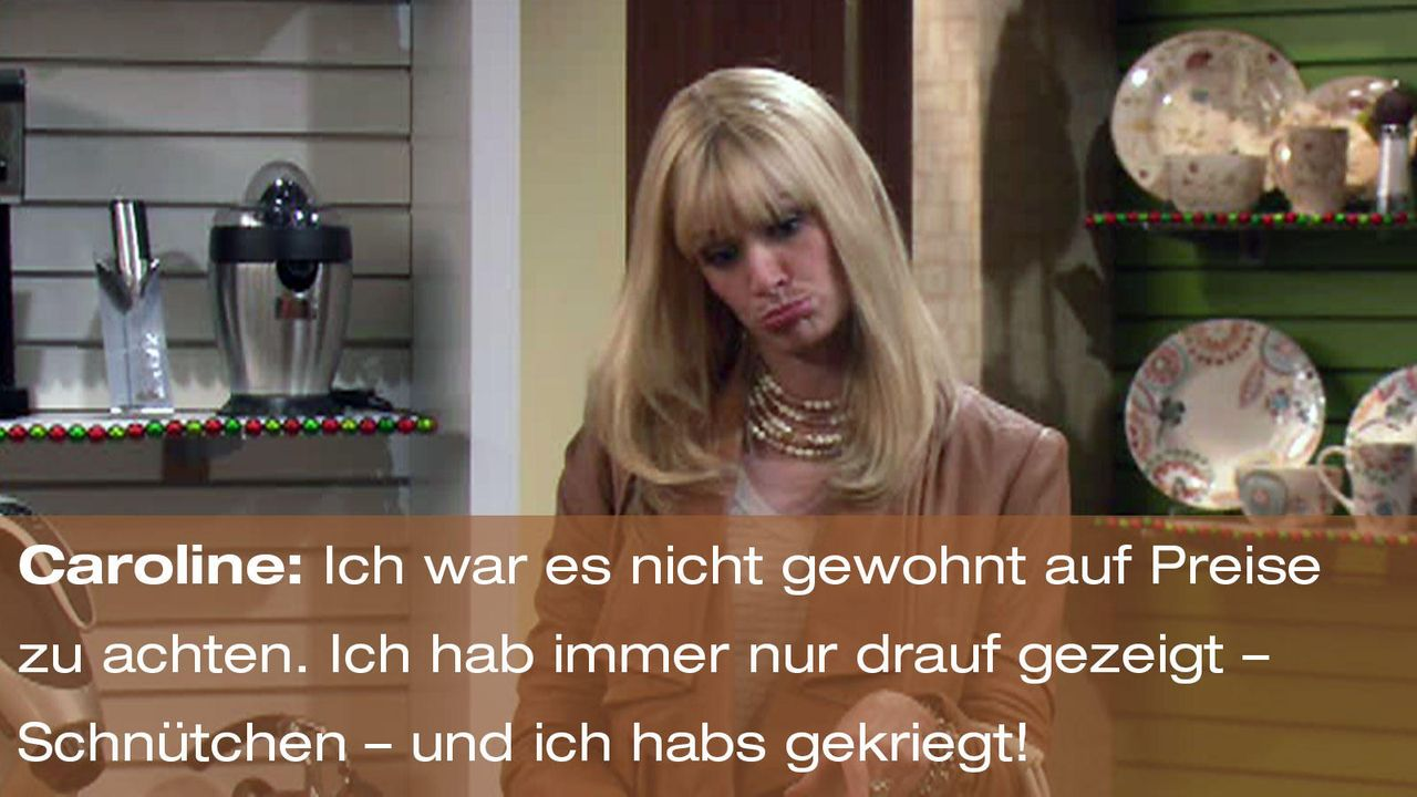 2-broke-girls-episode-12-elfen-terror-zitat-caroline-schnuetchenjpg 1600 x 900 - Bildquelle: Warner Brothers Entertainment Inc.
