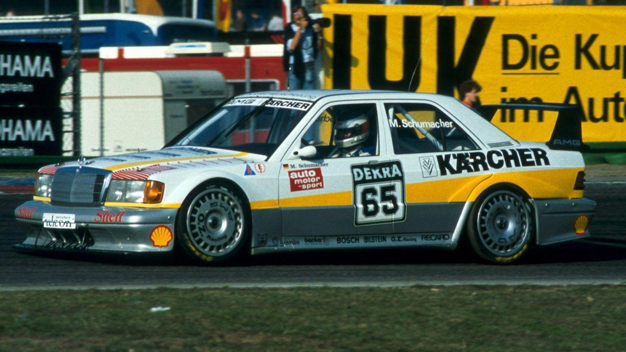 Michael Schumacher/1991 - Bildquelle: LAT
