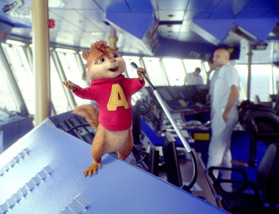 Auf einer Kreuzfahrt haben Alvin und seine Freunde nur Unsinn im Kopf - was natürlich nicht ohne Folgen bleibt ... - Bildquelle: 2011 Twentieth Century Fox Film Corporation. All rights reserved.