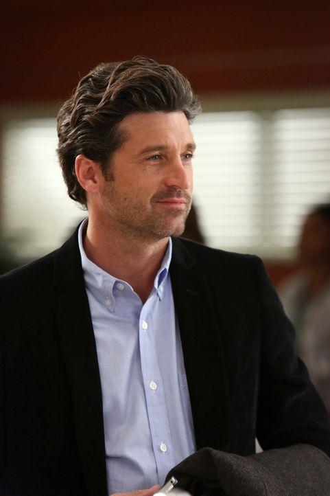 Owen und Derek (Patrick Dempsey) unterhalten sich über den Rechtsstreit bezüglich des Flugzeug-Unglücks und Owen muss feststellen, dass Derek ihm... - Bildquelle: ABC Studios