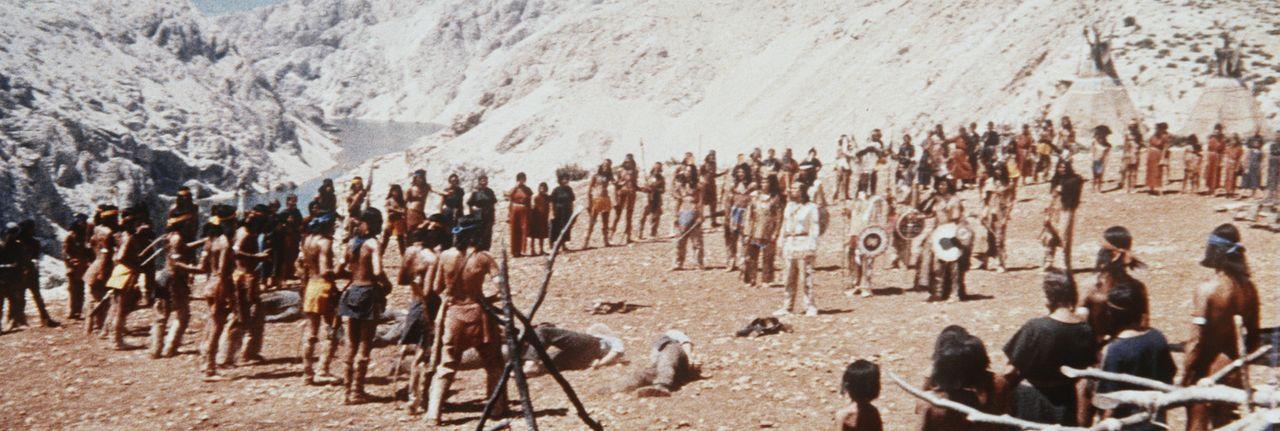 Wieder einmal kommt es zu heftigen Unruhen zwischen Siedlern und Indianern ... - Bildquelle: Columbia Pictures