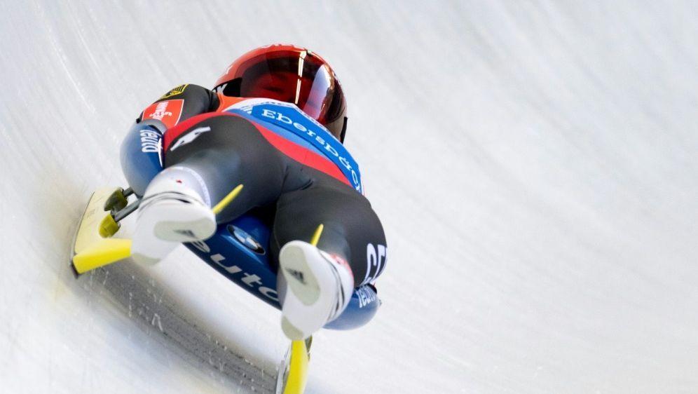 Julia Taubitz feiert ihren ersten Sieg im Weltcup - Bildquelle: PIXATHLONPIXATHLONSID