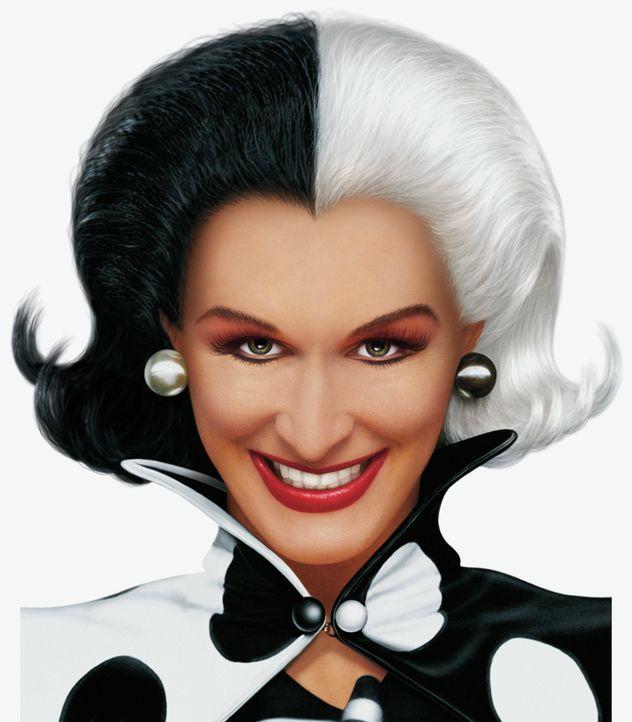 Cruella de Vil (Glenn Close) ist wieder zurück ... - Bildquelle: Walt Disney Pictures