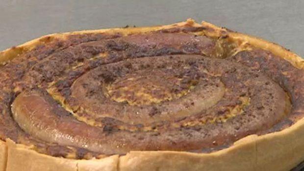 Geburtstagskuchen mal anders: Bratwurst-Torte von Dirk Hoffmann