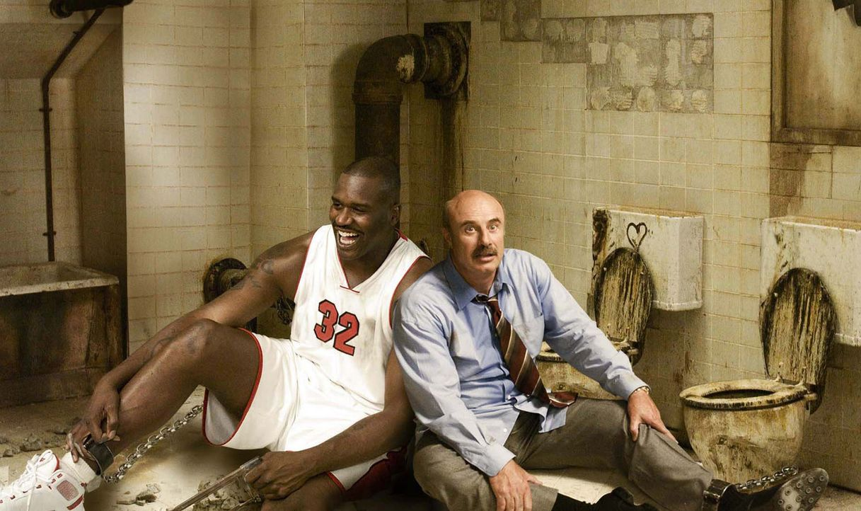 Sterben oder sägen: Shaq (Shaquille O'Neal, l.) und Dr. Phil (Phil McGraw, r.) ... - Bildquelle: The Weinstein Company. All Rights Reserved.