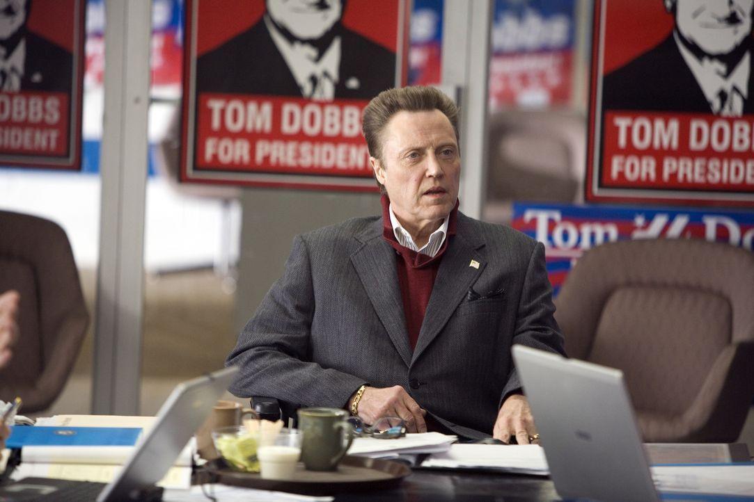 Jack Menken (Christopher Walken) unterstützt seinen Busenfreund Tom Dobbs bei dessen Kampf um die Wahl zum Präsidenten der USA. Werden die beiden ge... - Bildquelle: Morgan Creek International