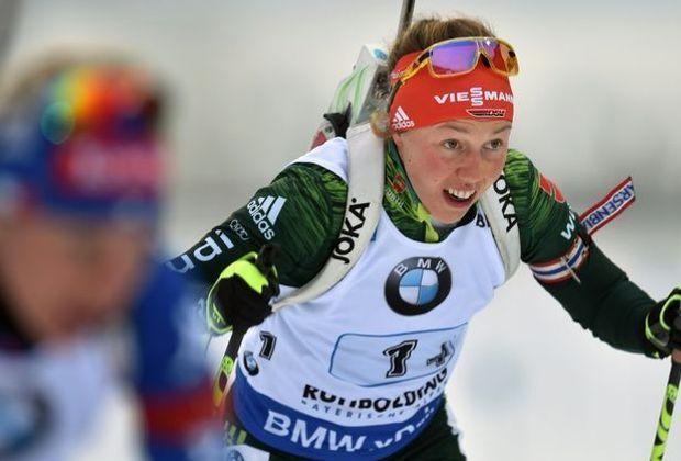 Verpasste den Sieg nur knapp: Laura Dahlmeier