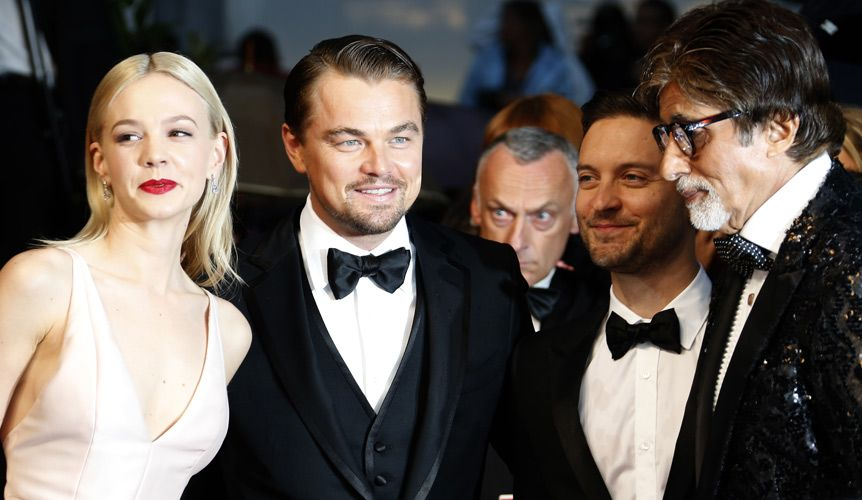 Carey Mulligan, Leonardo DiCaprio, Tobey Maguire und Amitabh Bachchan - Bildquelle: AFP