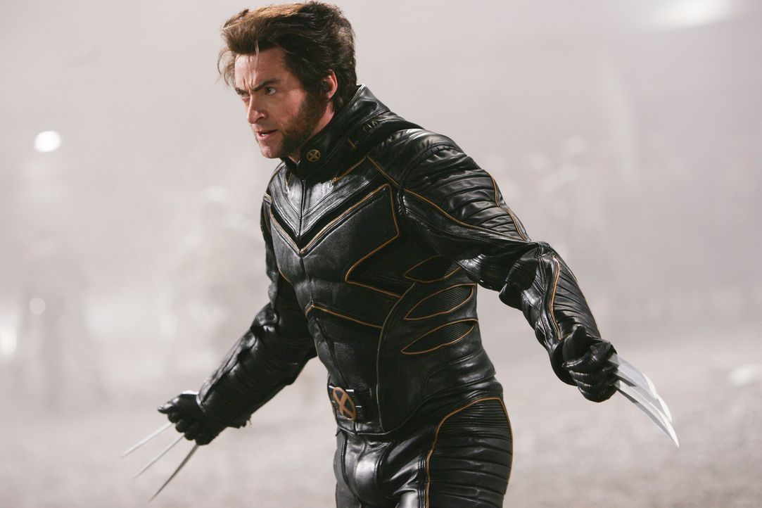 Als Jean vollkommen durchdreht und alle in Gefahr bringt, kämpft Wolverine (Hugh Jackman) mit allen Mitteln gegen sie, trotz seiner Gefühle. Er ahnt... - Bildquelle: 2006 Twentieth Century Fox Film Corporation.  All rights reserved.   X-MEN all character names and their distinctive likenesses: TM &   2006 Marvel