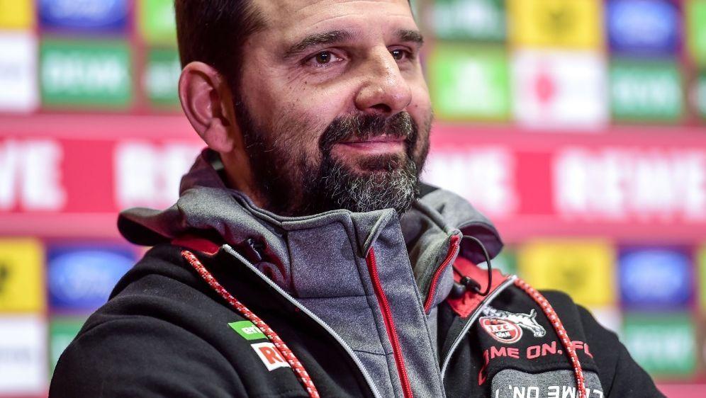 Kölns Stefan Ruthenbeck verlangt aggressiveres Auftreten - Bildquelle: PIXATHLONPIXATHLONSIDNeil Baynes