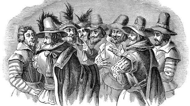 Guy Fawkes und die Bonfire Night
