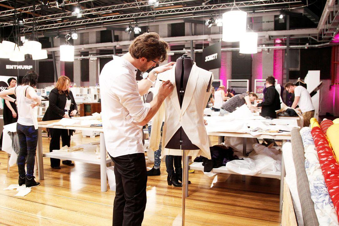 Fashion-Hero-Epi01-Atelier-40-ProSieben-Richard-Huebner - Bildquelle: ProSieben / Richard Huebner
