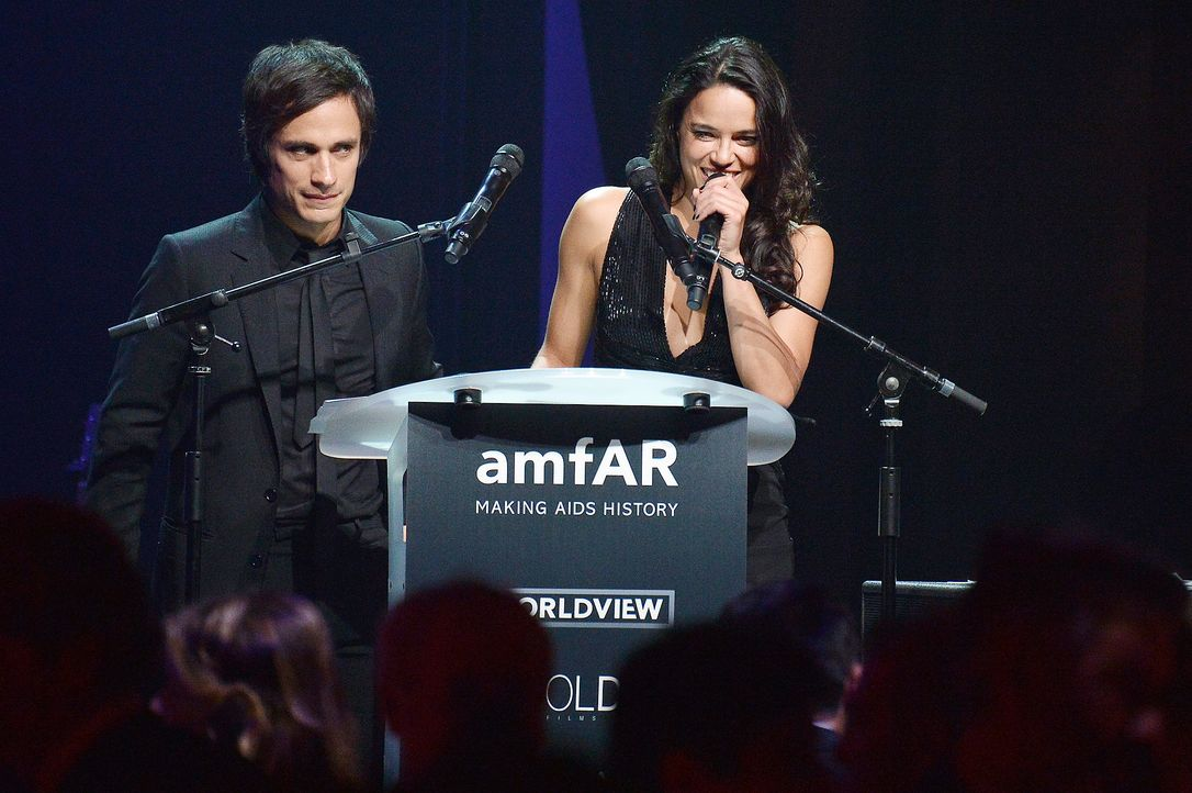 Cannes-Filmfestival-amfAR-Michelle-Rodriguez-140522-AFP - Bildquelle: AFP