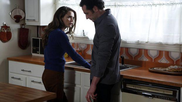Philip (Matthew Rhys, r.) dachte immer, dass er seiner Frau Elizabeth (Keri R...