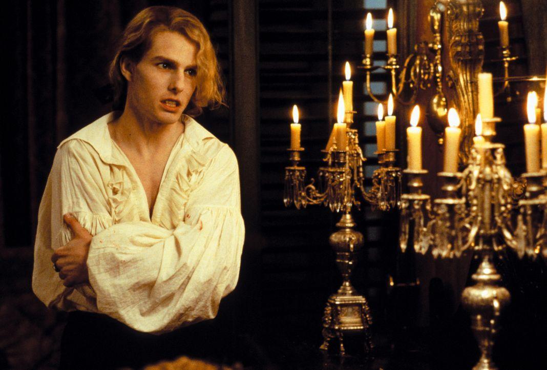 Hemmungslos und unersättlich: Vampir Lestat (Tom Cruise) ... - Bildquelle: Warner Bros.