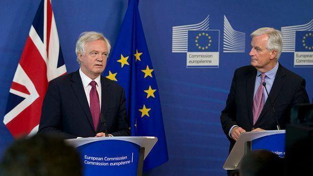 Erste Runde der Brexit-Verhandlungen