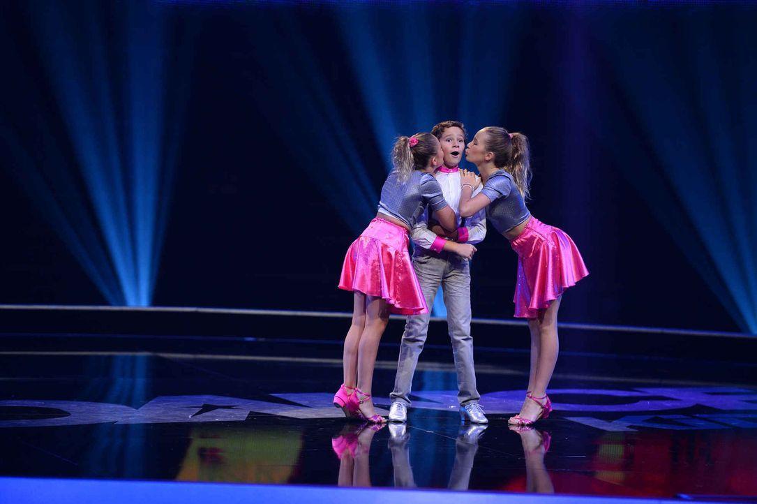 Können sie die Konkurrenz besiegen? Petra (l.), Christian (M.) und Franziska (r.) versuchen alles, um ins Finale zu kommen ... - Bildquelle: Willi Weber SAT.1