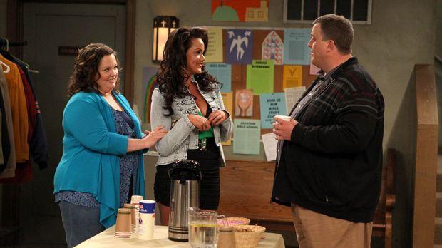 Mike & Molly - Bei einem Treffen für Übergewichtige lernt Mike (Billy Gardell...