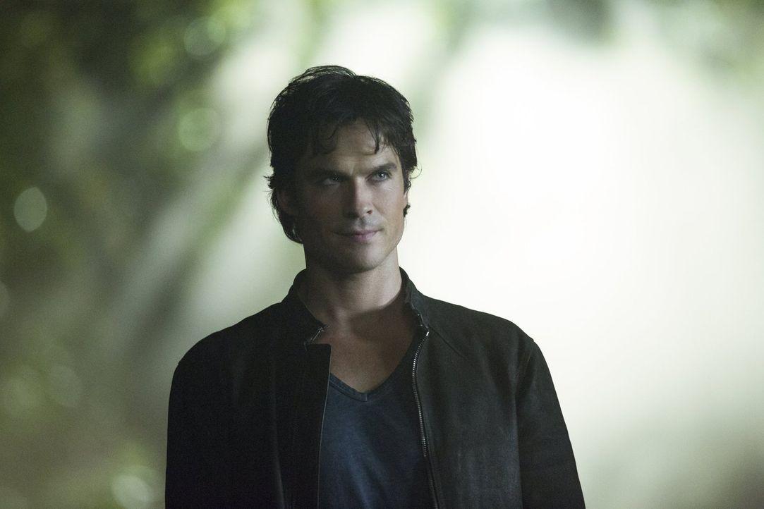 Während Damon (Ian Somerhalder) bereits seine Menschlichkeit ausgeschaltet hat, nutzt Enzo den Rest seiner Selbstkontrolle dafür, um seinen Freunden... - Bildquelle: Warner Bros. Entertainment, Inc.