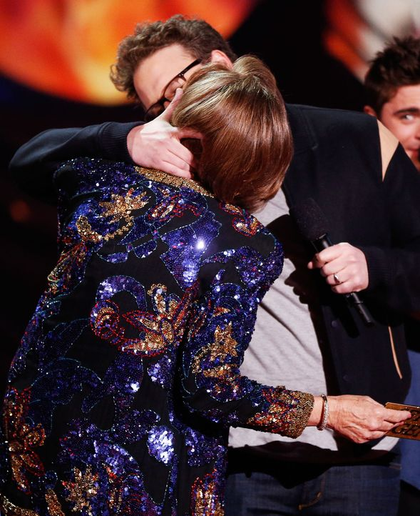 MTV-Movie-Awards-Sandra-Daubert-Seth-Rogen-140313-getty-AFP - Bildquelle: getty-AFP