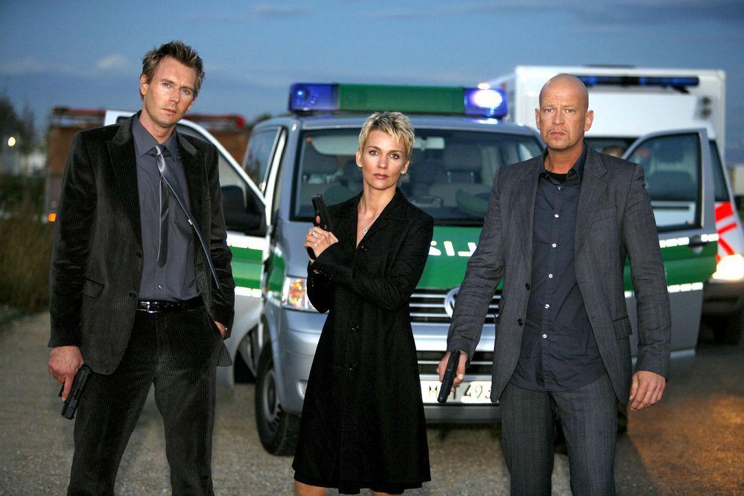 V.l.n.r.: Gerrit Grass, Alexandra Rietz und Michael Naseband - Bildquelle: Holger Rauner Sat.1