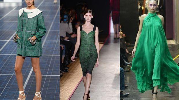 Trendfarbe Grün: Auch in der Mode topaktuell