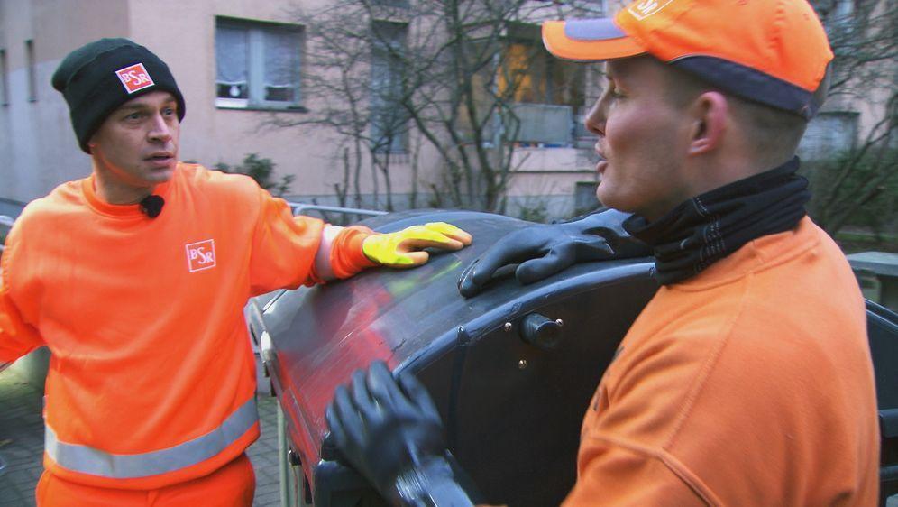 Harro macht mit: Müllabfuhr