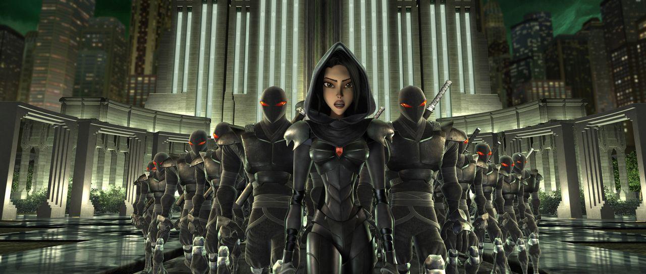 Das Böse bedroht New York und den Rest der Welt. Können die Ninja-Turtles es besiegen? - Bildquelle: TOBIS Filmkunst GmbH