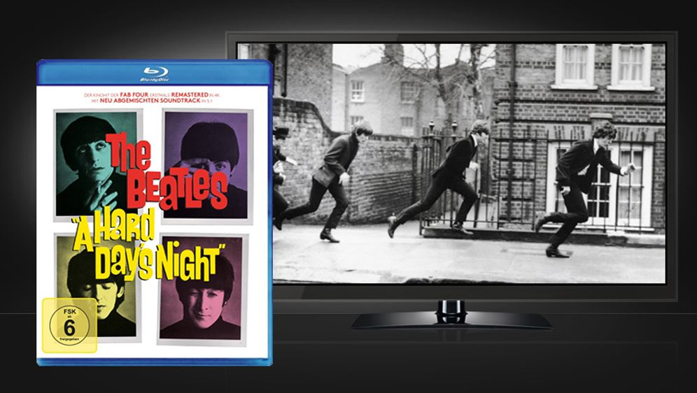 A Hard Day's Night (Yeah! Yeah! Yeah!) - Bildquelle: Koch Media