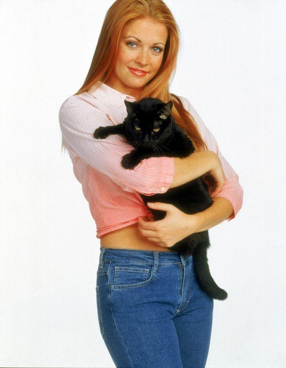 (5. Staffel) - Kater Salem ist eigentlich ein zu 1000 Jahre verurteilter potentieller Eroberer der Welt, der Sabrina (Melissa Joan Hart) mit Rat und... - Bildquelle: Paramount Pictures