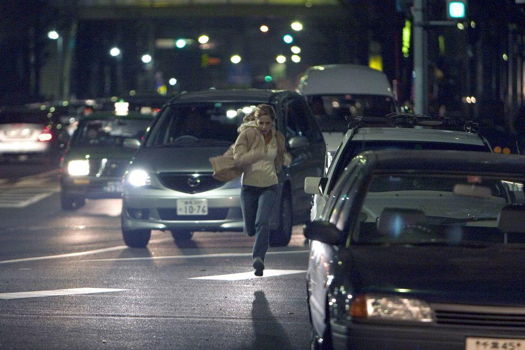 Fliehen ist zwecklos! Der Fluch, der auf dem Horror-Haus lastet, wird Karen (Sarah Michelle Gellar) überall hin verfolgen ... - Bildquelle: Constantin Film