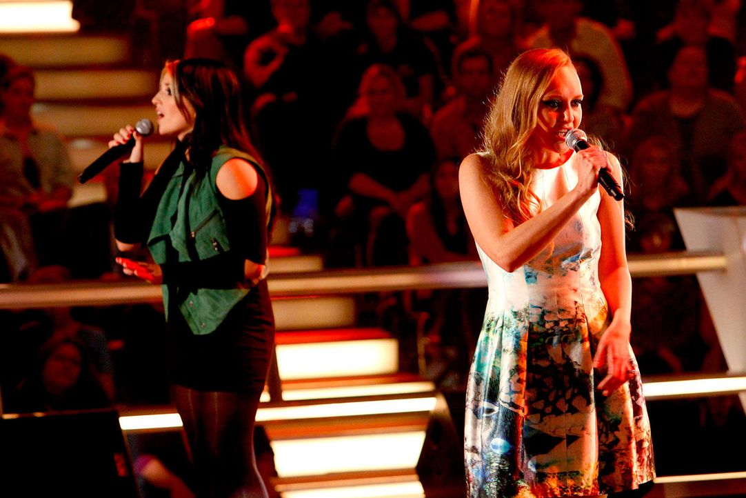 battle-lida-01-the-voice-of-germany-richard-huebnerjpg 1700 x 1134 - Bildquelle: SAT.1/ProSieben/Richard Hübner