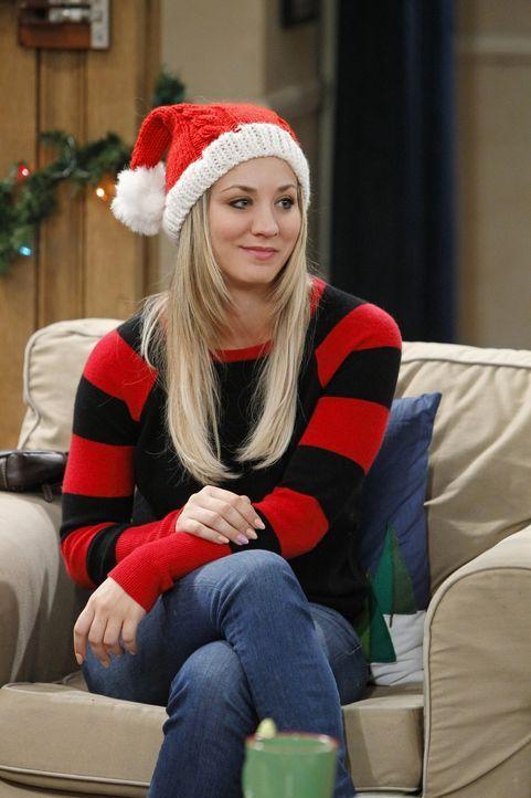 Penny (Kaley Cuoco) wird klar, dass sie ohne Sheldon nie mit Leonard zusammengekommen wäre ... - Bildquelle: Warner Bros. Television