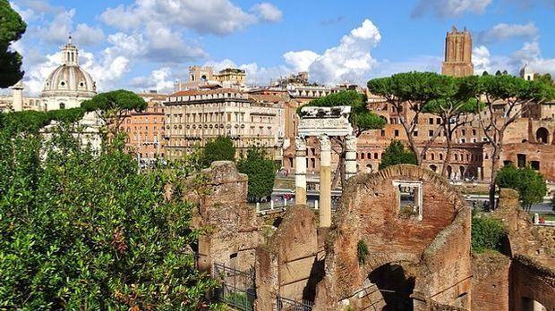 Rom gehört zu den beliebtesten Zielen für eine Städtereise.