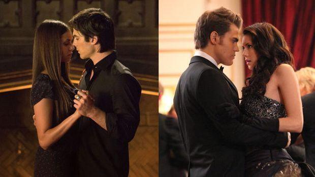 Bist du eher wie Stefan und Elena oder wie Damon und Elena? Finde im Psycho-T...