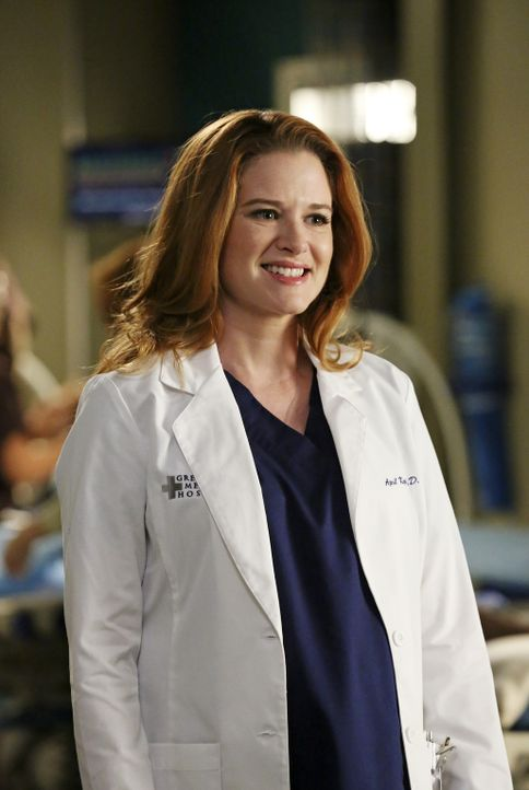 April (Sarah Drew) schwebt weiterhin auf Wolke Sieben. Noch ahnt sie nichts von der erschreckenden Diagnose ihres Ultraschalls ... - Bildquelle: ABC Studios