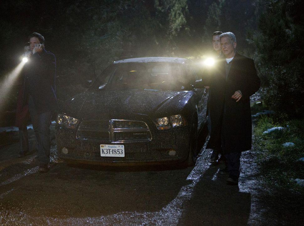 Versuchen alles, um ihre Kollegen noch rechtzeitig zu finden: (v.l.n.r.) Ziva (Cote de Pablo), Tony (Michael Weatherly), McGee (Sean Murray) und Gib... - Bildquelle: CBS Television