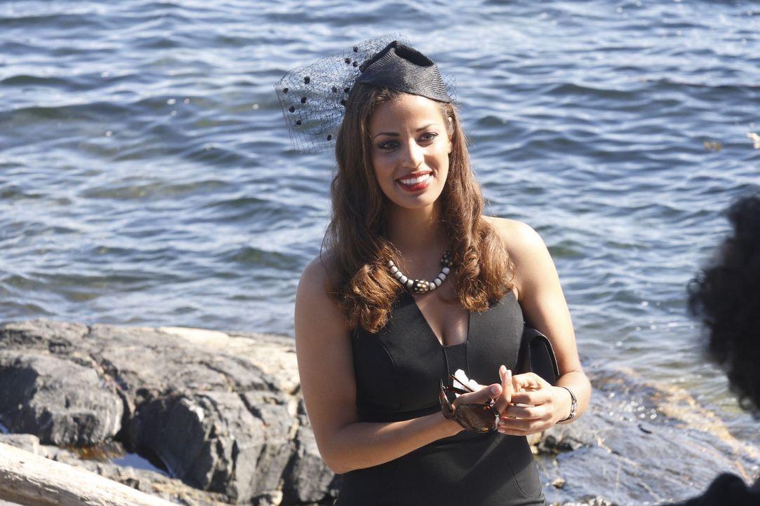 Gerät ins Visier eiskalter Gangster: Melina Cruz (Athena Karkanis) ... - Bildquelle: 2008 Operation Eagle Productions Inc. All Rights Reserved.