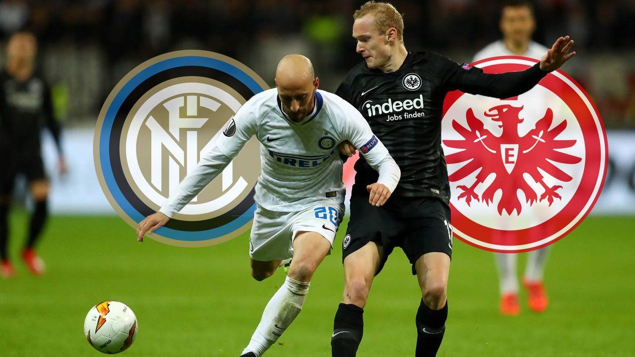 Inter Mailand gegen Eintracht Frankfurt im Head-to-Head - Bildquelle: 2019 Getty Images