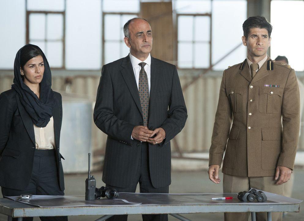 Lockhart und das Weiße Haus gehen auf Haqqanis Forderungen ein, für Saul fünf Top-Taliban-Terroristen auszutauschen. Gemeinsam mit dem pakistanische... - Bildquelle: 2014 Twentieth Century Fox Film Corporation
