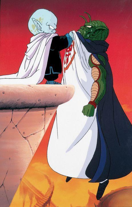 (v.l.n.r.) Garlic Jr.; Gott - Bildquelle: 1989 TOEI ANIMATION CO., LTD