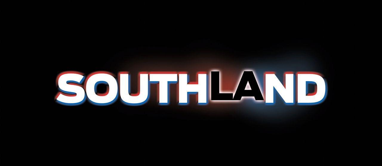 """""""SOUTHLAND"""" - Logo - Bildquelle: Warner Brothers"""