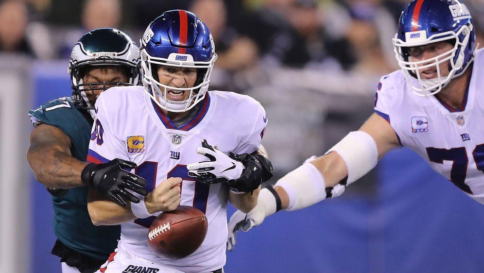 Quarterback Eli Manning fällt für die Giants-Offensive zu wenig ein - Bildquelle: Getty Images
